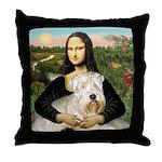 Mona's Wheaten Throw Pillow