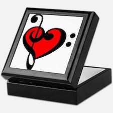 love my clef Keepsake Box