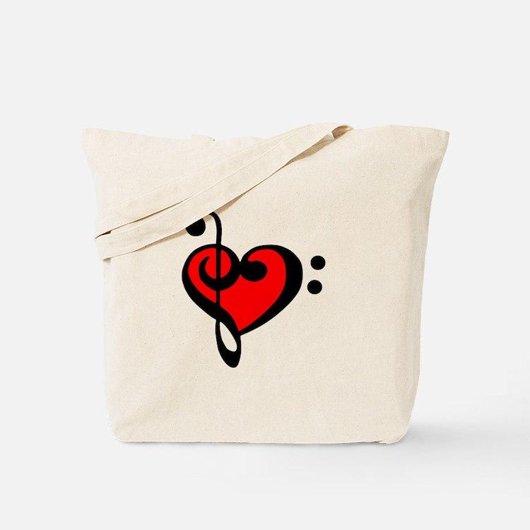 love my clef Tote Bag