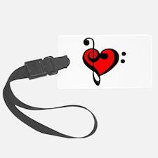 love my clef Luggage Tag