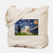 Starry / Wheaten T #1 Tote Bag