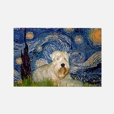 Starry / Wheaten T #1 Rectangle Magnet