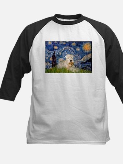 Starry / Wheaten T #1 Kids Baseball Jersey