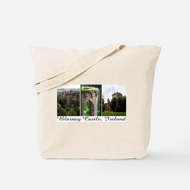 Blarney Castle, 3 vert. photo Tote Bag