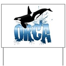 orca.png Yard Sign