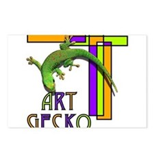 art gecko-2.png Postcards (Package of 8)