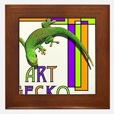 art gecko-2.png Framed Tile