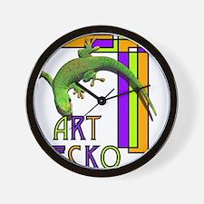 art gecko-2.png Wall Clock