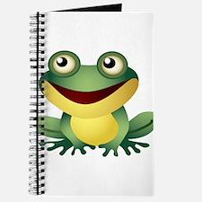 Green Cartoon Frog-4 Journal