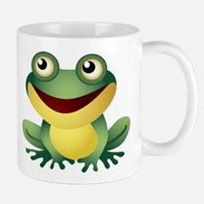 Green Cartoon Frog-4 Mugs