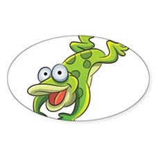 Jumping Frog Decal