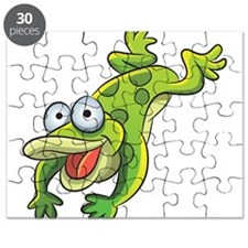 Jumping Frog Puzzle