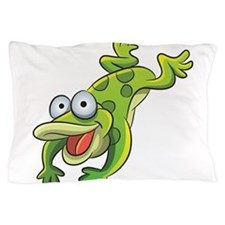 Jumping Frog Pillow Case