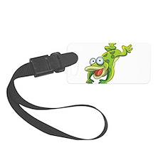 Jumping Frog Luggage Tag