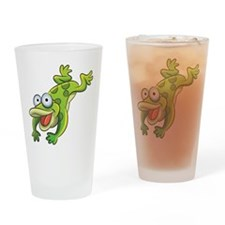 Jumping Frog Drinking Glass