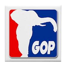 """""""GOP"""" Tile Coaster"""