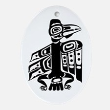 Raven, Cicely, Alaska Oval Ornament