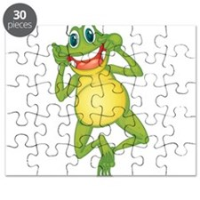 Frog with Big Smile Puzzle