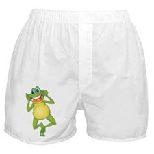 Frog with Big Smile Boxer Shorts