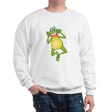 Frog with Big Smile Sweatshirt