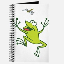 Frog with Dragonfly Journal
