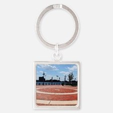 Town Point Square Keychain