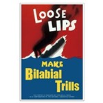 """Loose Lips (23""""X35"""") Large Poster"""