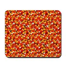 Halloween Candycorn Mousepad