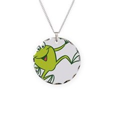 Dancing Frog Necklace