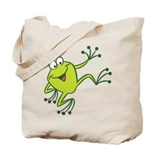 Dancing Frog Tote Bag
