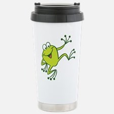 Dancing Frog Travel Mug