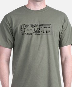 Cicely Alaska First Class Postmark T-Shirt