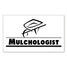 Mulchologist Rectangle Decal
