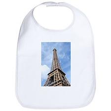 Looking up at Eiffel Tower Bib