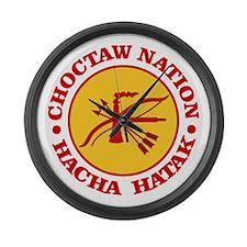 Choctaw Nation Large Wall Clock