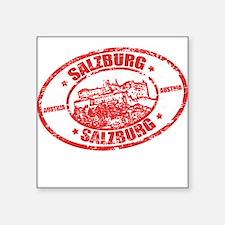 Salzburg Stamp Sticker