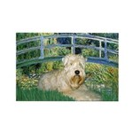 Bridge & Wheaten Rectangle Magnet (10 pack)