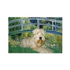 Bridge & Wheaten Rectangle Magnet