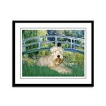 Bridge & Wheaten Framed Panel Print