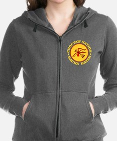 Choctaw Nation Women's Zip Hoodie