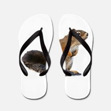 Funny Squirrel Flip Flops