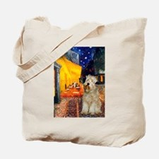 Cafe & Wheaten Tote Bag
