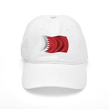 Wavy Bahrain Flag Baseball Cap