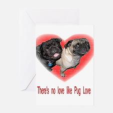 No Love.jpg Greeting Card