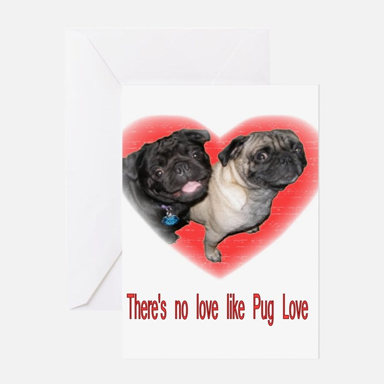No Love.jpg Greeting Card