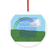 RainbowBridge2.jpg Ornament (Round)