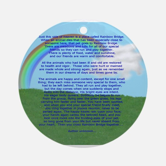 RainbowBridge2.jpg Ornament (Round)