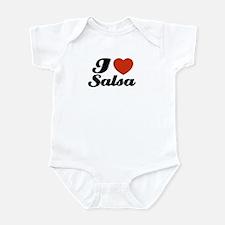 I love Salsa Infant Bodysuit