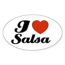 I love Salsa Oval Decal