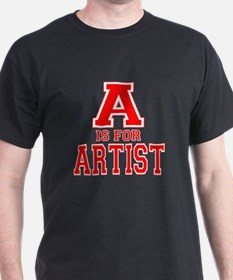 A is for Artist T-Shirt